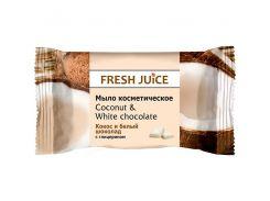 Fresh Juice Мыло косметическое Кокос и Белый шоколад, 75 мл