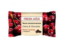 Fresh Juice Мыло косметическое Вишня и Шоколад, 75 мл