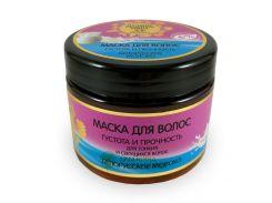 Planeta Organica Лучшие рецепты мира Маска для густоты и прочности волос Белорусское молоко, 300 г