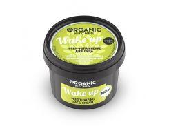 Organic Kitchen Крем для лица увлажняющий Wake up, 100 г