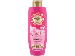 Planeta Organica Лучшие рецепты мира Шампунь гладкость и блеск для всех типов волос Японский Шелк, 350 г