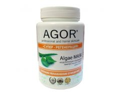 Agor Маска для лица альгинатная Супер-Регенерация, 25 мл