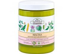 Зеленая Аптека Маска для волос Лопух большой и Протеины пшеницы, 1000 г