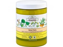 Зеленая Аптека Маска для волос Липовый цвет и Облепиховое масло, 1000 г