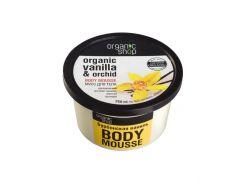 Organic Shop Мусс для тела Бурбонская ваниль, 250 г