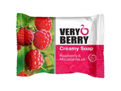 Very Berry Мыло Creamy Soap Raspberry & Macadamia oil, 100 мл