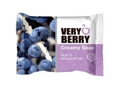 Very Berry Мыло Creamy Soap Acai & Amaranth oil, 100 мл