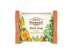 Зеленая Аптека Green Pharmacy Мыло Морковь с маслом Тыквы, 100 мл