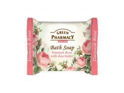 Зеленая Аптека Green Pharmacy Мыло Дамасская роза с маслом Ши, 100 мл