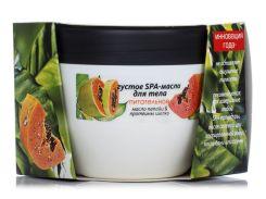 Energy of Vitamins Масло для тела густое питательное Папайя и Протеины шелка, 250 г