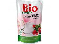Bio formula Бальзам для мытья посуды Гранат дой-пак, 500 г