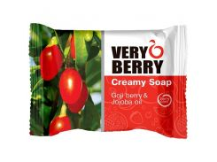 Very Berry Мыло Creamy Soap Goji berry & Jojoba oil, 100 мл