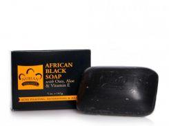 Nubian Heritage Африканское черное мыло, 141 мл