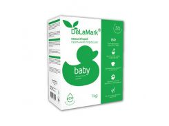 DeLaMark Стиральный порошок экологичный Для детских вещей, 1000 мл