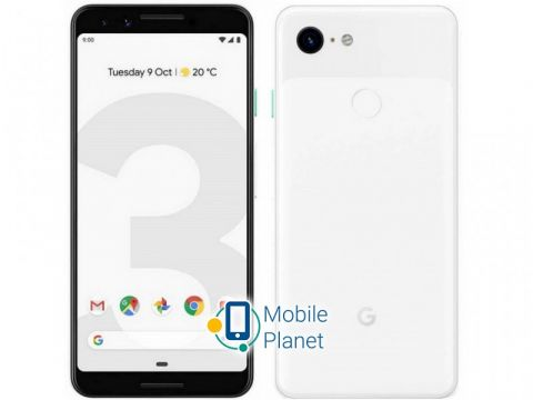 Google Pixel 3 4/128GB Clearly White Одесса