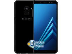 Samsung Galaxy A8 Plus 2018 Duos 32Gb Black Госком (SM-A730FD)