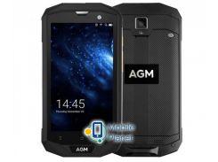 AGM A8 3/32GB Black/Silver