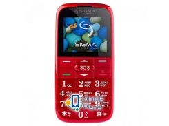 Sigma mobile Comfort 50 Slim2 Red Госком
