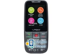Sigma mobile Comfort 50 Elegance3 DS grey (1600mAh) Госком
