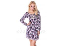 Домашнее платье, вискоза (2335) Lida