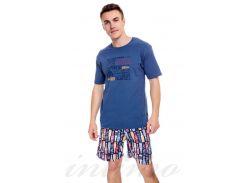 Футболка и шорты, хлопок (326-64) Cornette