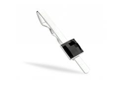 Зажим для галстука KOBI CHESS со Swarovski 7720-3004-03-32