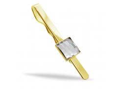 Зажим для галстука KOBI CHESS со Swarovski 7720-3004-02-35