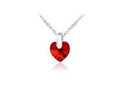 Кулон KOBI Heart Small 10*10 мм со Swarovski 7430-2259-200-32