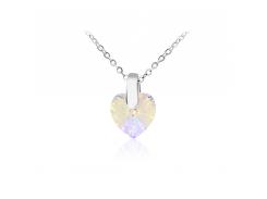 Кулон KOBI Heart Small 10*10 мм со Swarovski 7430-2259-16-32