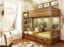 Эстелла25-2-3Двухъярусная кровать Дуэт 80х190