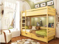 Эстелла25-2-4Двухъярусная кровать Дуэт 90х200