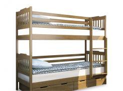 Венгер (Venger)125-16Двухъярусная кровать Ева 80х190