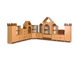 Гойдалка126-73Стенка для игровой комнаты Замок
