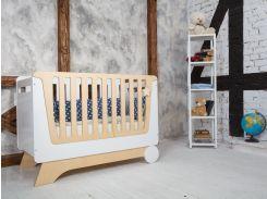 Indigo Wood116-3Кроватка Nova Kit со съемной спинкой
