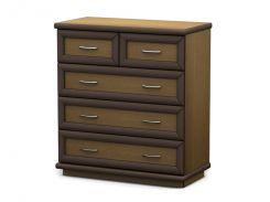 Тиса-мебель65-5-281Комод-20 75х75х45