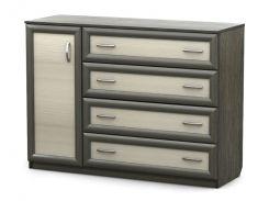 Тиса-мебель65-5-303Комод-31 120х90х45