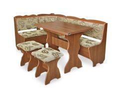 Pehotin44-6-471Кухонный уголок Лорд с раскладным столом и табуретами
