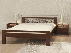 Camelia252-167Двуспальная кровать Жасмин 160х190 из бука