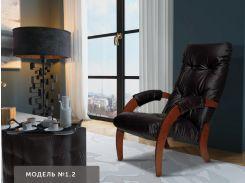 Happy Lounge151-2-1Кресло для отдыха, модель 1.2, задняя стенка оббита тканью