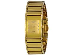 Rado Integral Gold Diamond Dial Ladies Watch R20783732