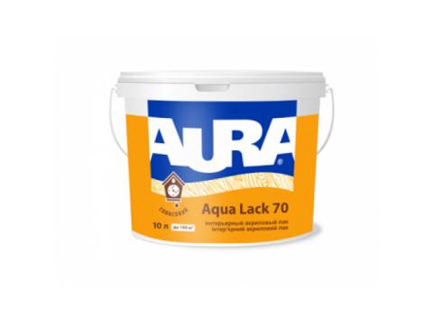 Лак акриловый глянцевый интерьерный Aura Aqua Lack 70