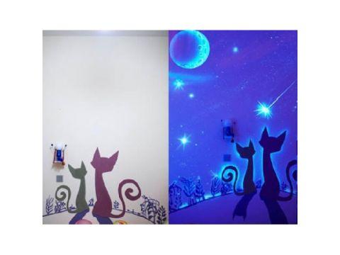 Краска флуоресцентная AcmeLight для интерьера белая