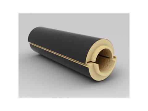 Полуцилиндр теплоизоляционный ППУ рубероид 133/40
