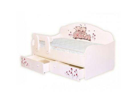 Кроватка диванчик Мишки 80х190 ДСП