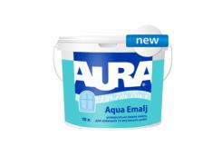 Эмаль акриловая полуматовая универсальная Aura Aqua Emalj