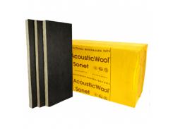 Акустическая минеральная вата AcousticWool Sonet P 50 мм кашированная стеклохолстом