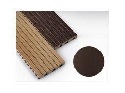 Панель декоративная акустическая MDF 4akustik искусственный шпон венге