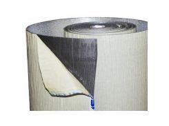Изолон Izolon Pro 3004 самоклеющийся фольгированный серый 1м