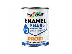 Эмаль акриловая PROFI Kompozit белая шелковисто-матовая