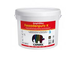 Штукатурка силиконовая короед Caparol Capatect Amphisilan-Fassadenputz K10 белая